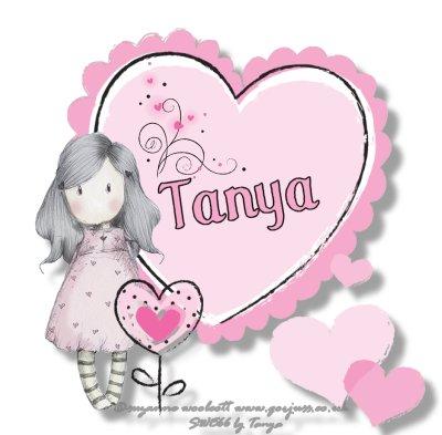 Tanya - Gorjuss live laugh love (GENFAN4LIFE)